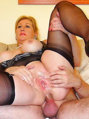 Busty mature anal