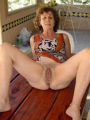 Naked 60 year old woman