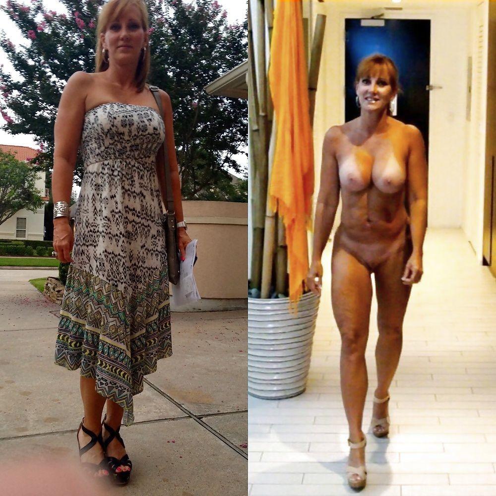 Women dressed undressed Dressed Undressed